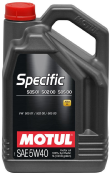 Motul Specific VW505 01 502 00 5W40 5L